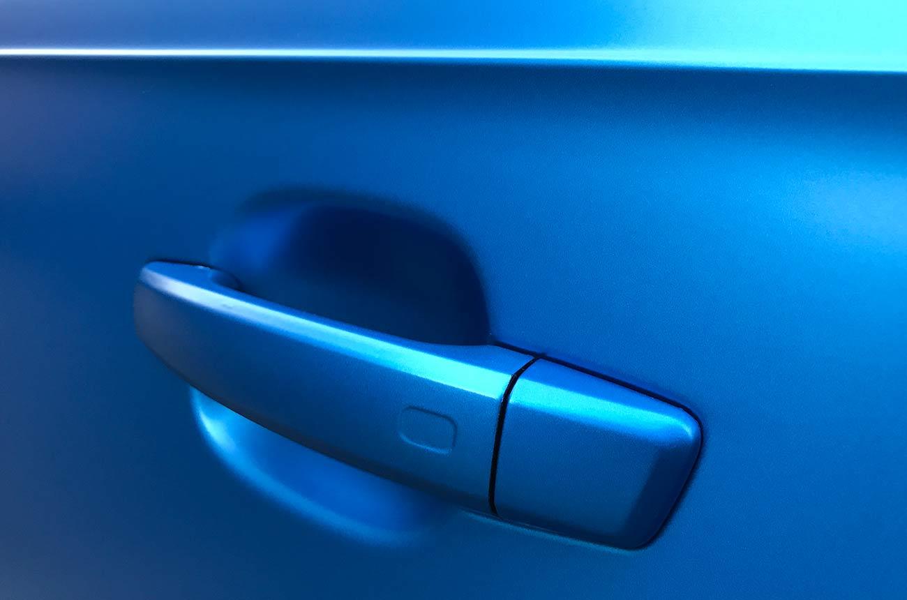 Audi s3 car wrapping dettaglio maniglia