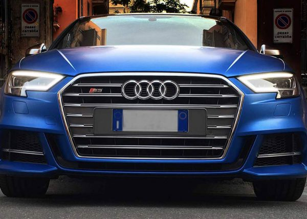 Audi s3 car wrapping frontale tn