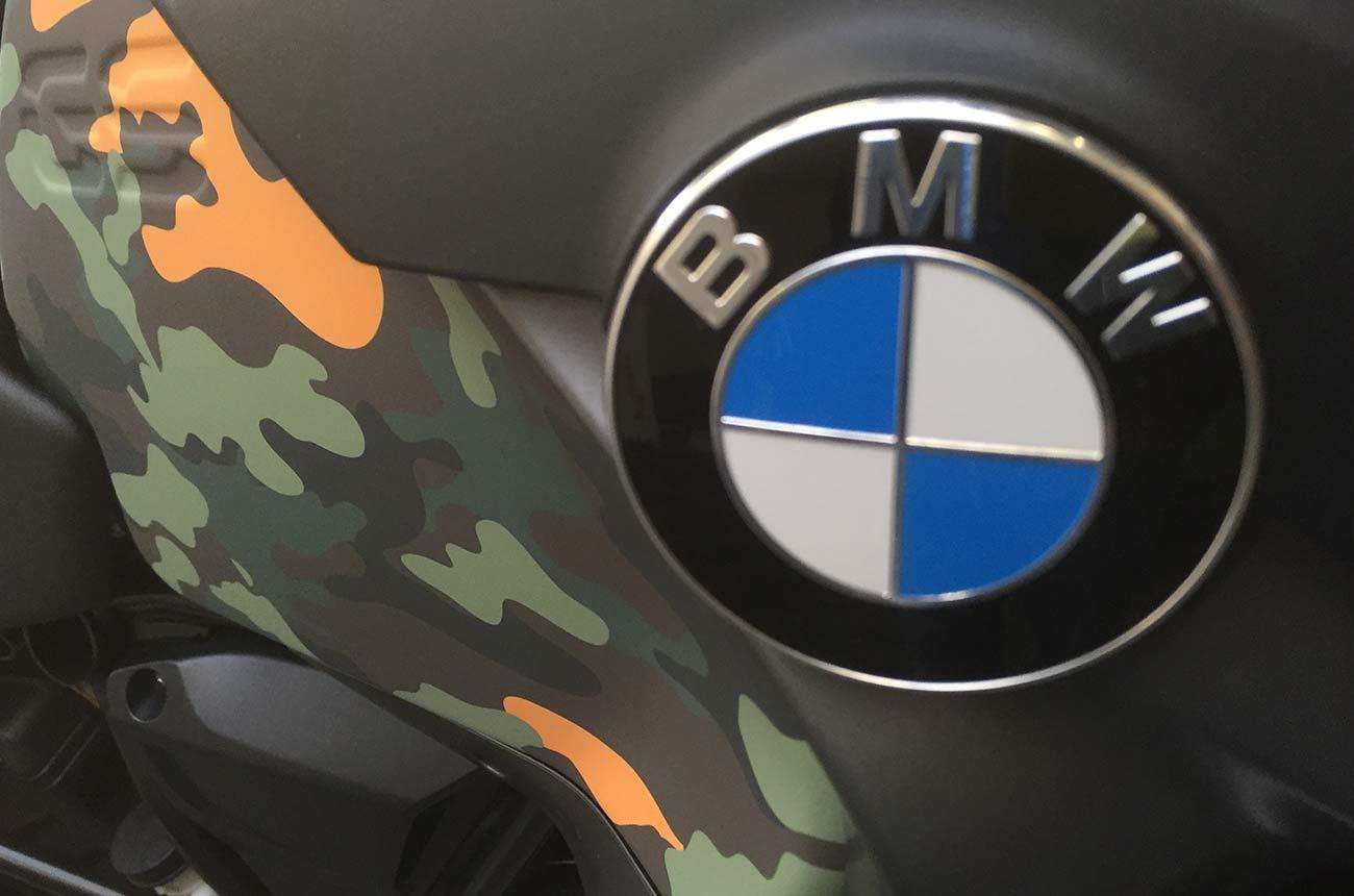 Bmw gs r1200 car wrapping dettaglio2