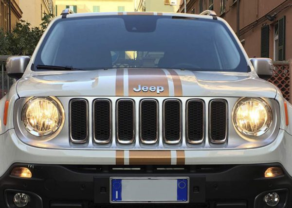 Car Wrapping Jeep