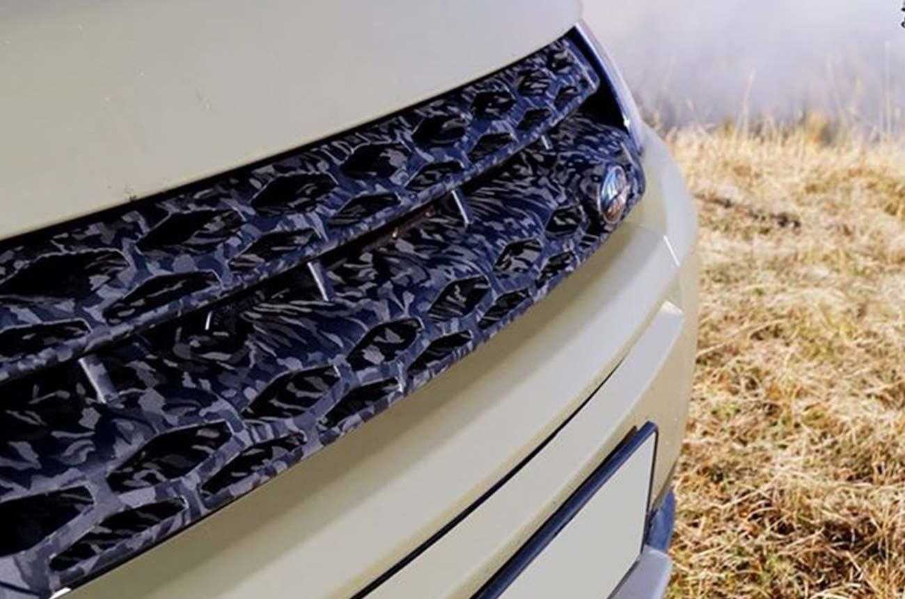 car wrapping range rover dettaglio