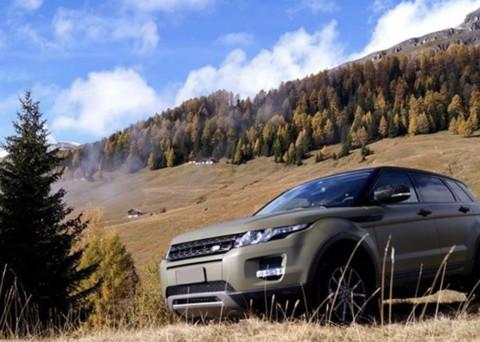 car wrapping range rover tn